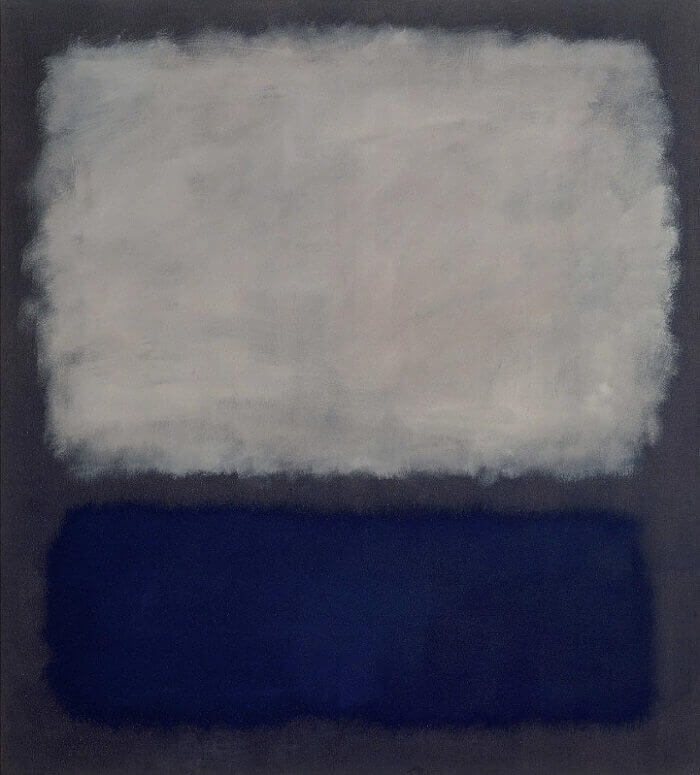 Blue and Grey, 1962 by Mark Rothko