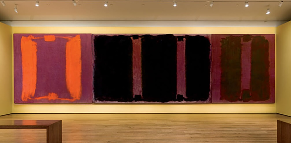 Havard Murals, (1965) by Mark Rothko