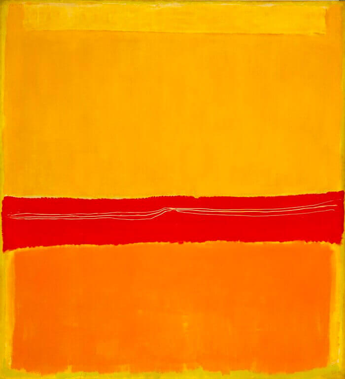 Number 5, (1949) by Mark Rothko