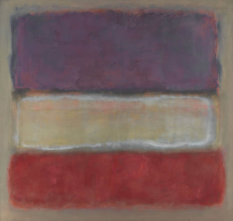 Purple, White, and Red, 1953 by Mark Rothko