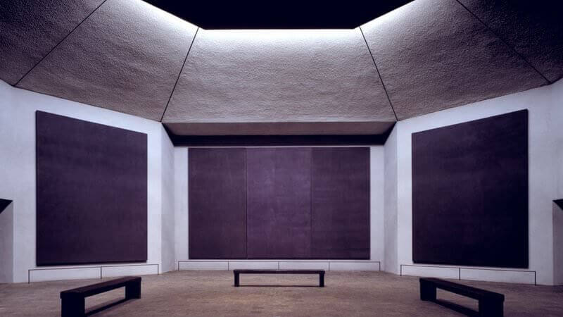 Rothko Chapel, Houston, by Mark Rothko
