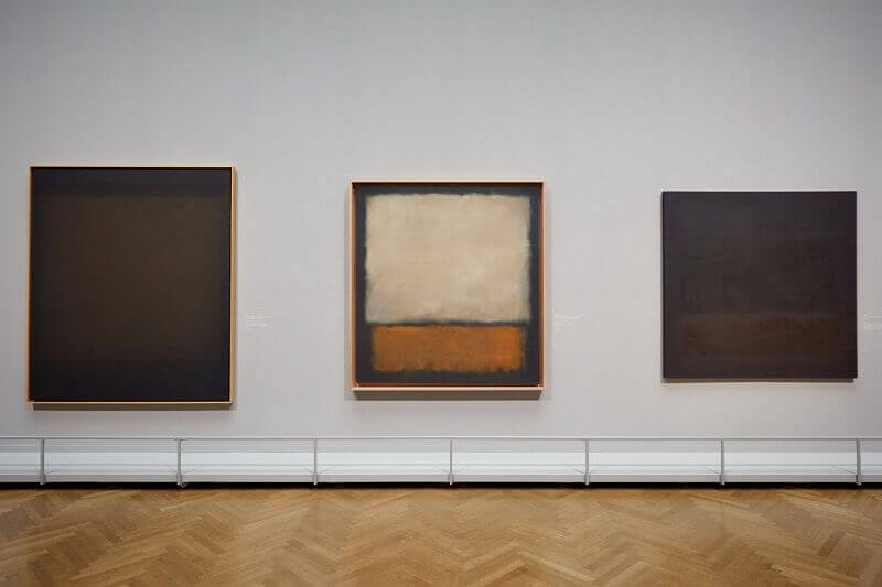 Photo of 'Plum and Dark Brown' by Mark Rothko