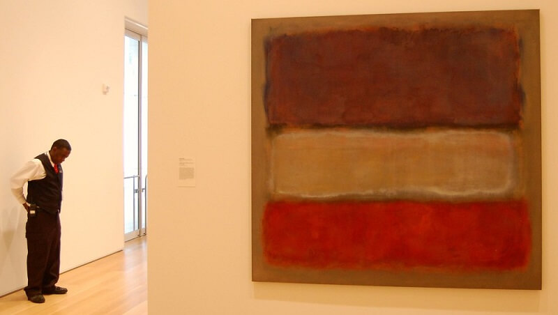 Photo of Purple, White, and Red, 1953 by Mark Rothko